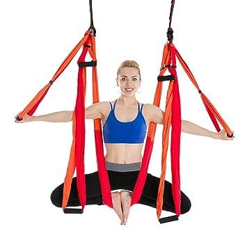 Hdcwz 6 Manejar Aérea Yoga Hamaca Estudio De Yoga Uso ...