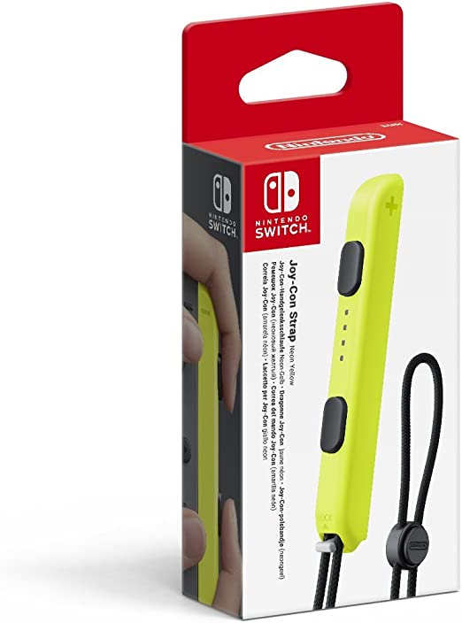 Nintendo - Correa Joy-Con, Color Amarillo (Nintendo Switch ...