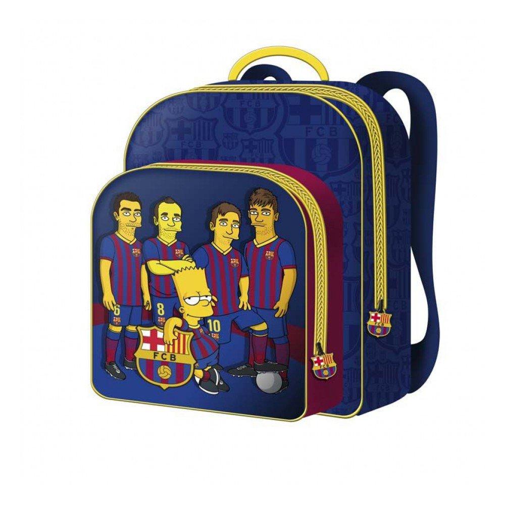 Mochila 30 Cm. Barça Simpsons - Fc Barcelona (20/2)https://amzn.to/2JIJhRU