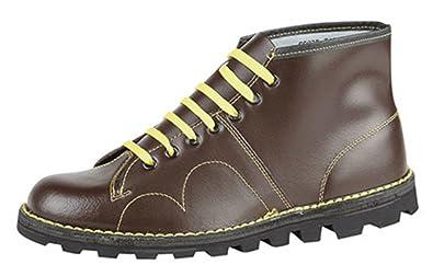 242f26e36ca Mens Grafters Original Monkey Boots, Mod Retro Style