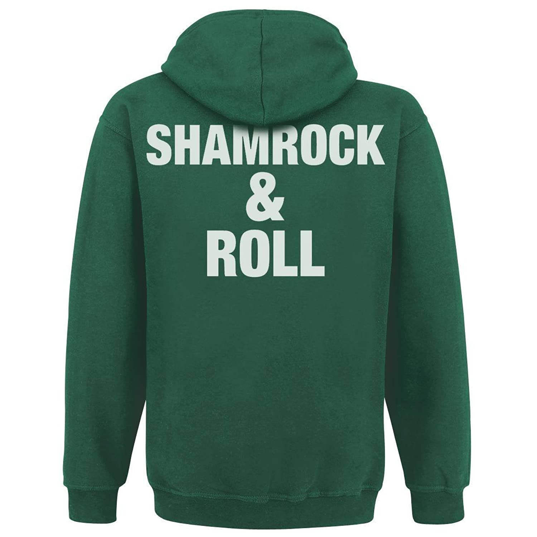 Dropkick Murphys - Shamrock & Roll Kapuzenpullover mit Rückendruck:  Amazon.de: Bekleidung