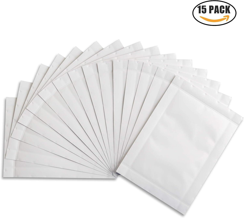 Distruggidocumenti DIN A4 per fogli di olio carta oleata distruggidocumenti per elevata capacit/à di taglio facile da usare per distruggere lufficio 10er Pack