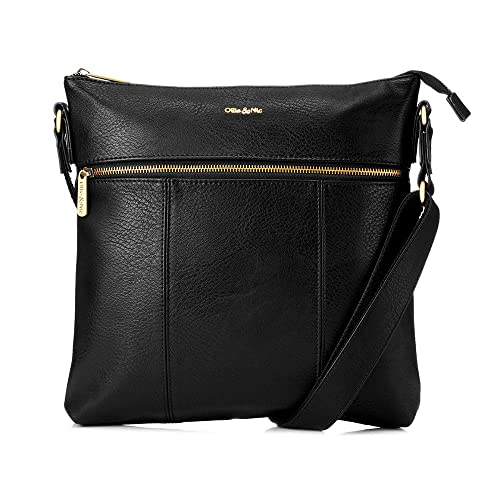 official supplier presenting good looking Ollie & Nic - Blake Large Crossbody Bag - Black: Amazon.co ...