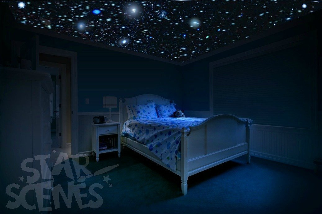 Glow in the Dark Ceiling Stars - So Realistic | Brightest Glow Stars for Ceiling | Stars that Glow in the Dark for 10hrs+ | Easy Peel & Stick | Free Gift Wrapping.