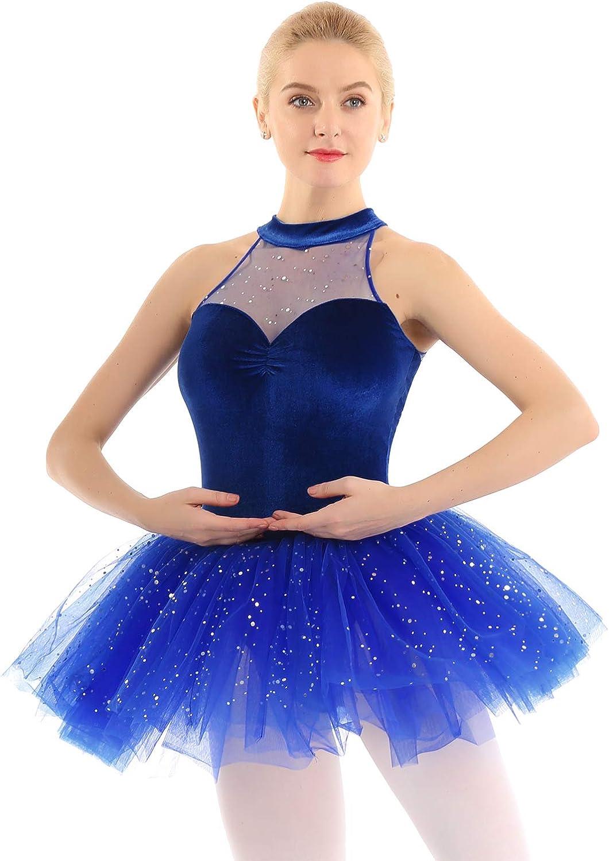 B07W3L995B iiniim Women's Ballet Tutu Costume Black Swan Lake Dance Leotard Dress 61ANyJB0NVL