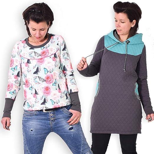 leni pepunkt Schnittmuster Pullover Damen in den Größen XS