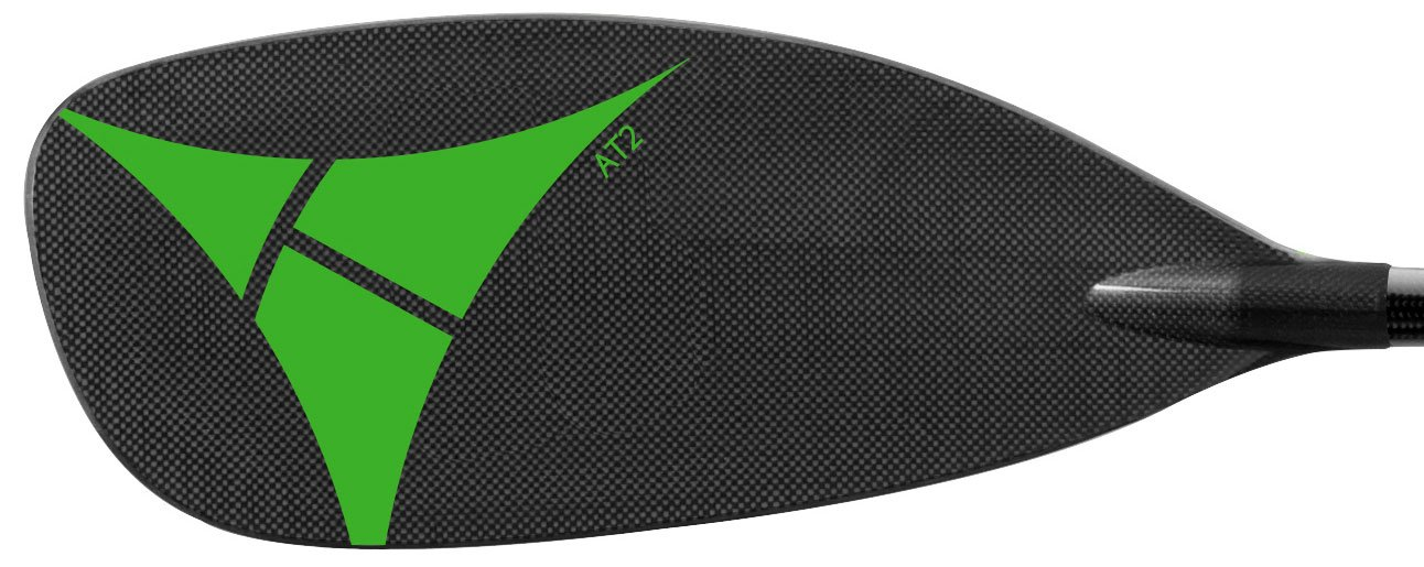 Adventure Technology at2 Carbon Straight Whitewater Kayak Paddle, 200cm/One Size, Black