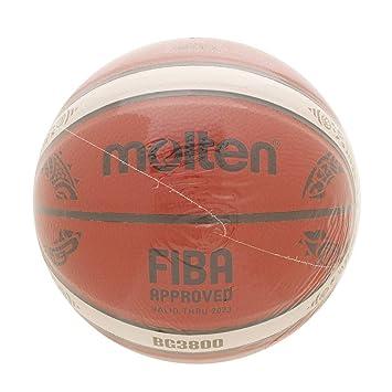 Amazon.com: Molten BG3800 Series Balón de baloncesto réplica ...