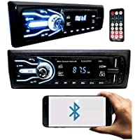 Som Automotivo Com Bluetooth Pen Drive 2x Usb Sd Card 7 Cores Auto Rádio Mp3 Carro