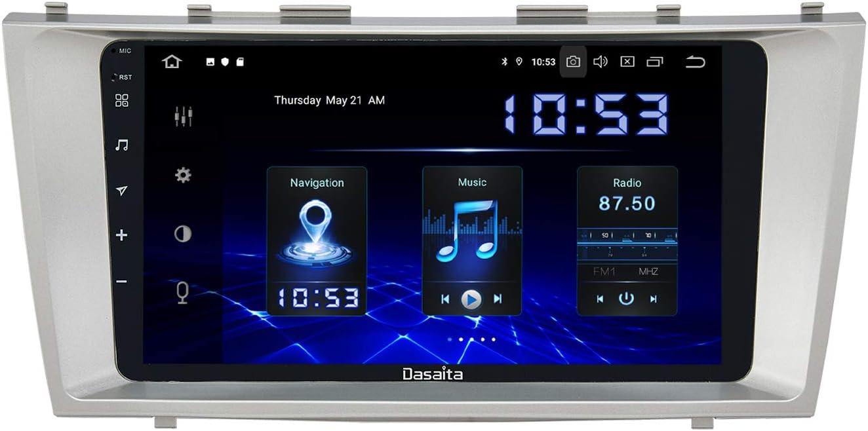USB Carplay R/ückfahrkamera Autoradio mit Navi Touchscreen Unterst/ützung WiFi DAB dasaita 9 Android 8.0 1 Din Autoradio Bluetooth Freisprecheinrichtung f/ür Subaru Forester WRX 2008-2012