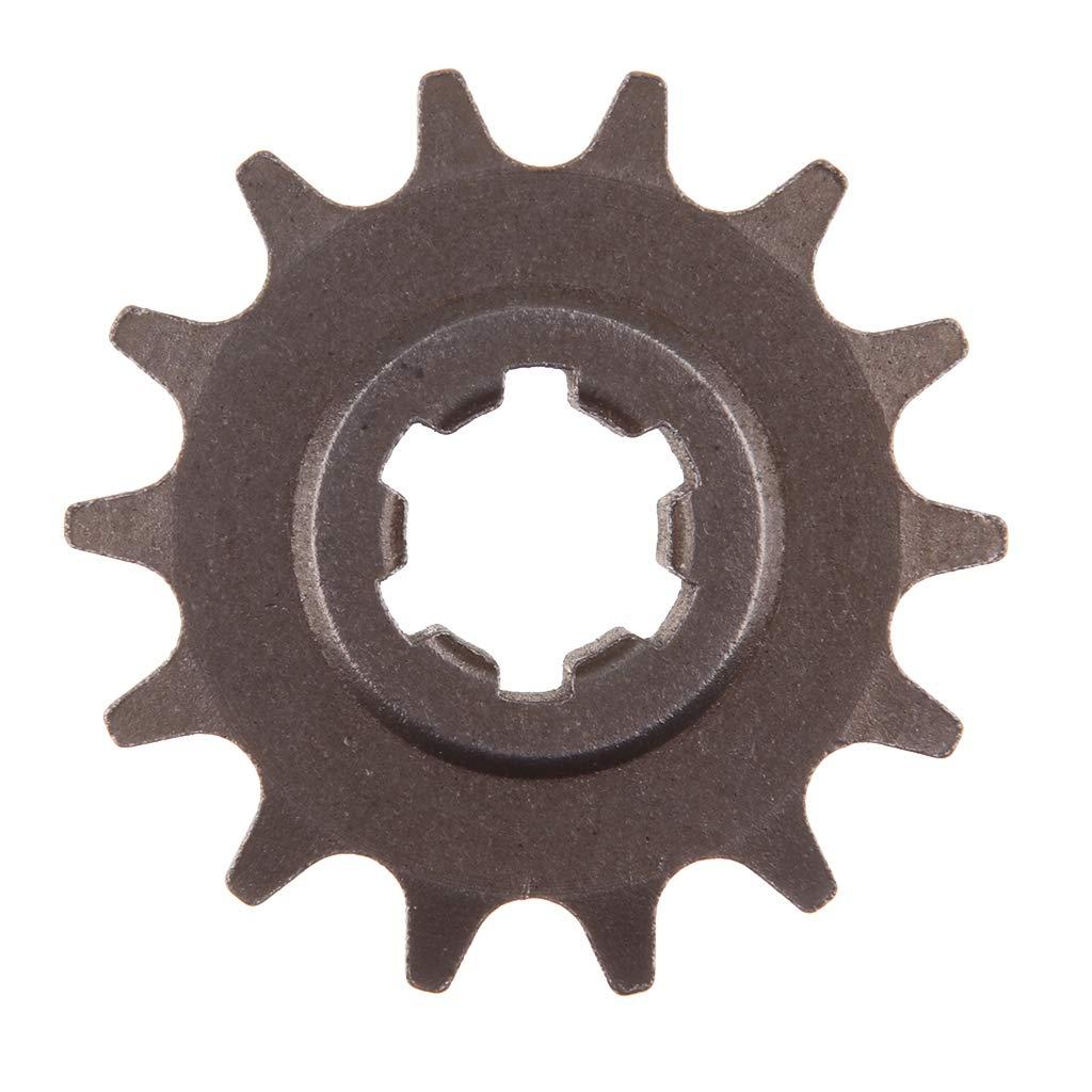 Flameer Gear Box 14 Teeth T8F Front Sprocket Pinion for 49CC 2-Stroke Engine ATV Quad Mini Dirt Pocket Bike