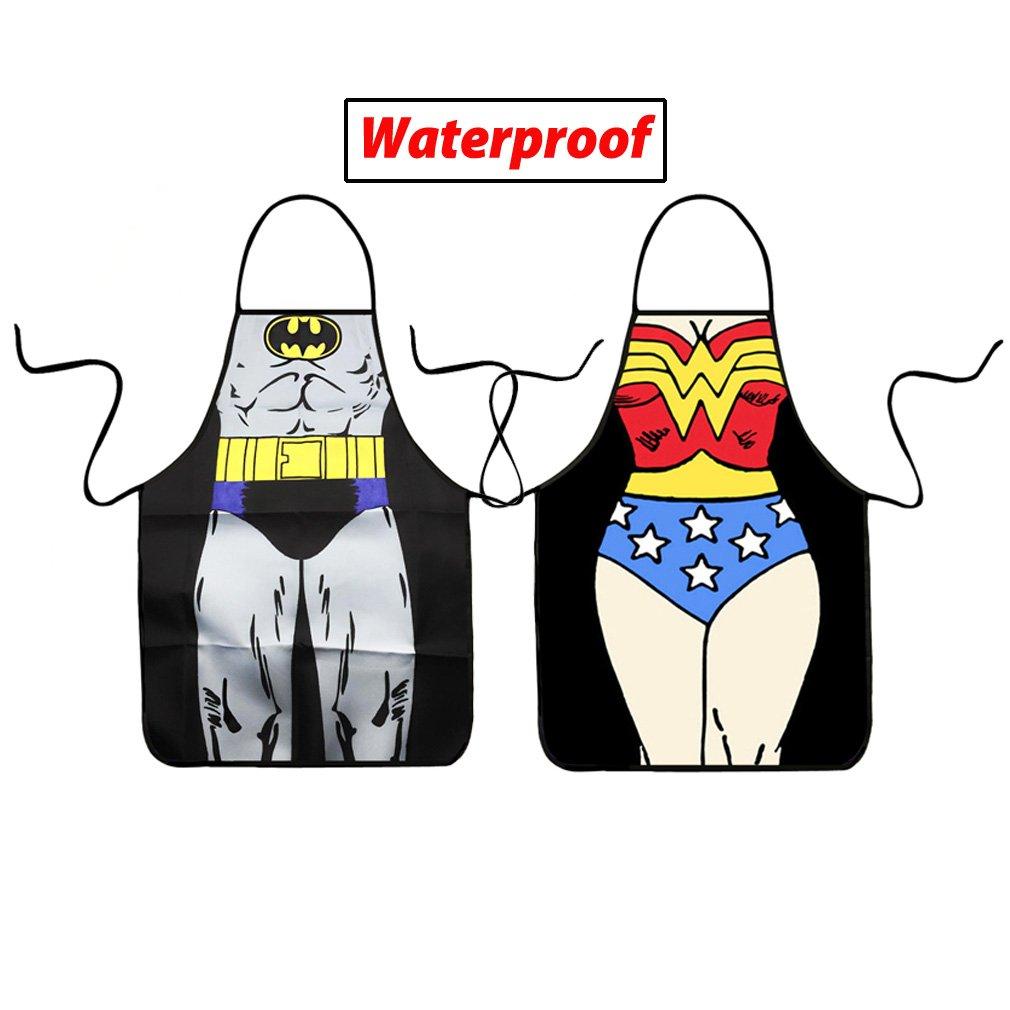 Buy VIPbuy Set of 2 Pcs Waterproof Comic Super Hero Character Batman ...