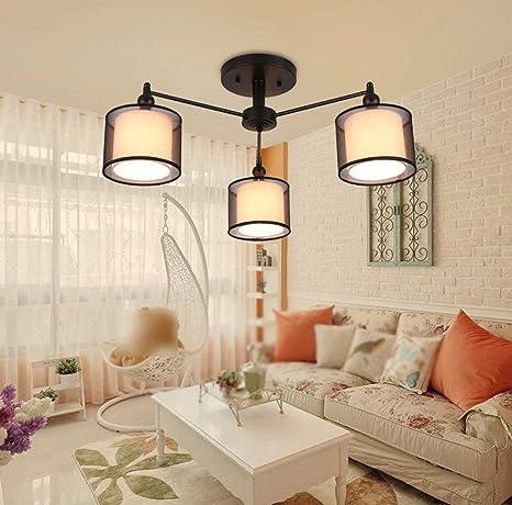Amazon.com: XQY Lámpara de Techo, Hogar, Salón, Dormitorio ...