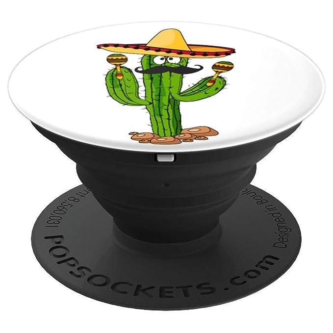 Amazon.com: Cinco De Mayo Funny Mexican Cactus With Maracas ...