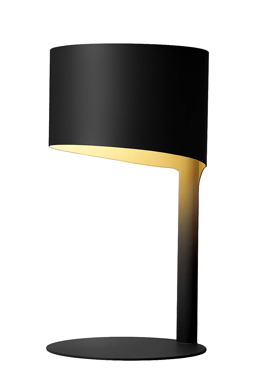 Lucide knulle - Lámpara de mesa, metal tejido, negro 40W ...