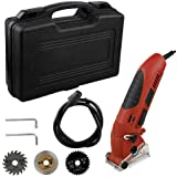 Professional Electric Circular Saw Cordless Brushless Compact Mini +6 Blades Multi-function