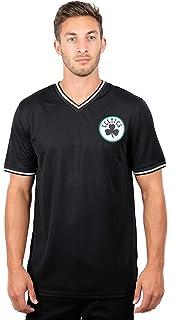 XX-Large Ultra Game NBA Boston Celtics Mens Supreme Long Sleeve Pullover Tee Shirt Heather Gray