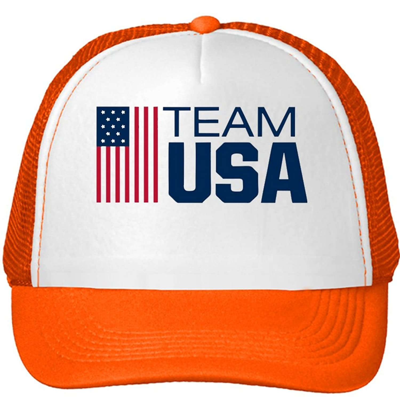 Team USA Mesh Snapback Trucker Hats Caps