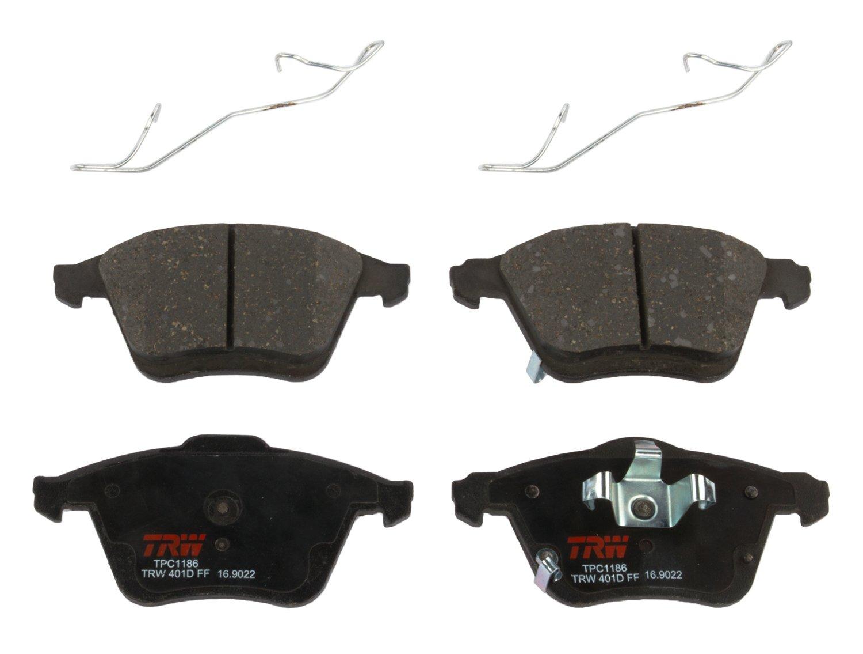 TRW TPC1186 Premium Ceramic Front Disc Brake Pad Set TRW Automotive