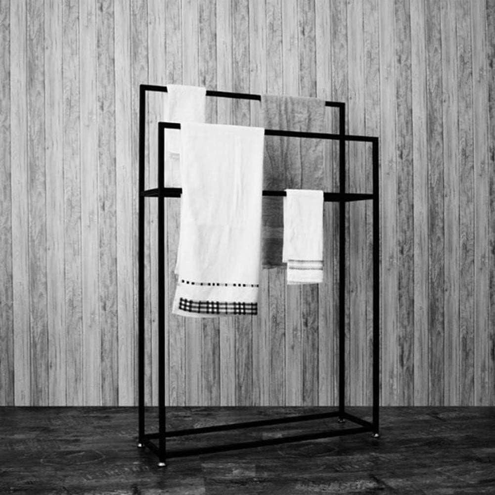 K/üche Badezimmer Organizer Holdergold-65X20X110Cm dauerhaft//Schwarz // 65x20x110cm Handtuchst/änder Schwarz Au/ßenpool Handtuchw/ärmer Dmjj Freistehende Handtuchhalter Regal F/ür Badezimmer