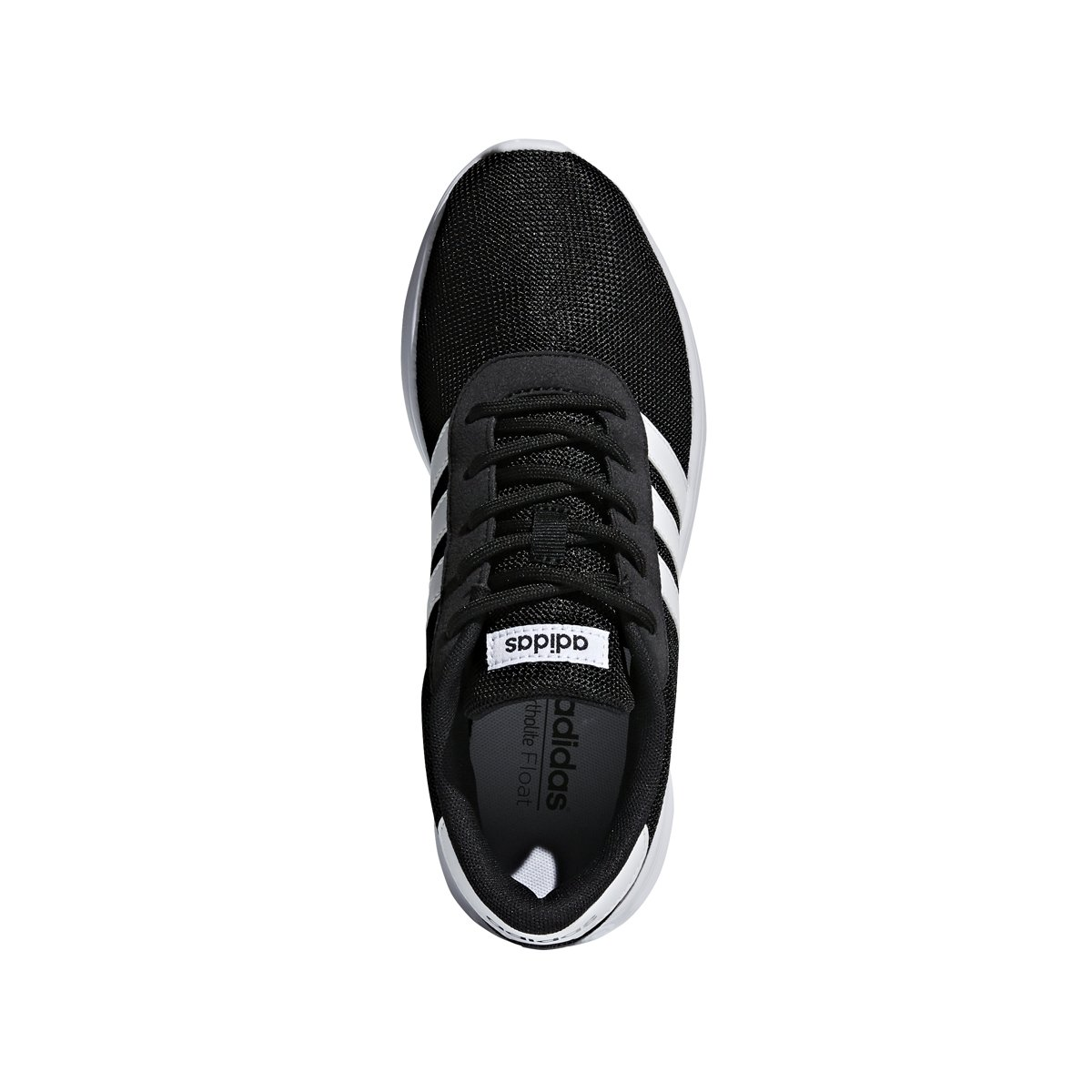 adidas Women's Lite Racer Running Shoe B078BF4MXN 5 B(M) US|Black/White/White
