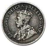 1858 CA - 1921 Canada 5 Cents Silver Avg Circ Random Dates ASW .0346 Nickel Very Good