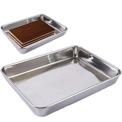 Amazon.com: Sartén para hornear galletas, molde para horno ...