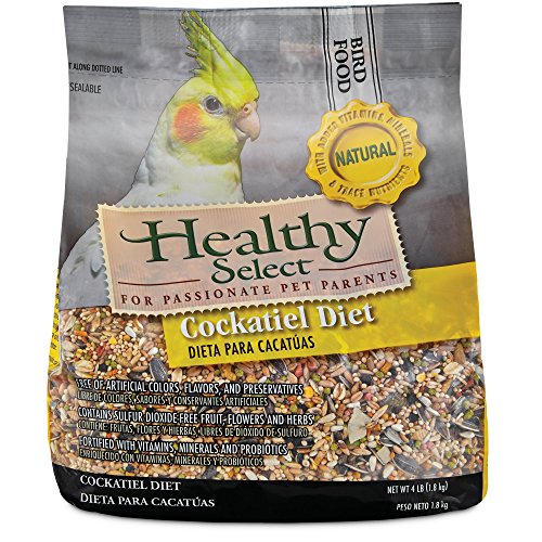 Healthy Select Natural Cockatiel Diet, 4 LB