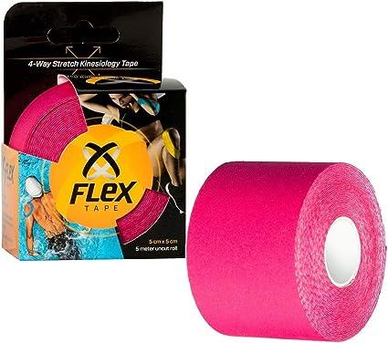 16 feet KT TAPE Cotton Roll Kinesiology Tape Uncut Pink