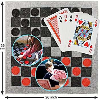 Amazon Com Elite Sportz Giant Card Games For Kids Giant