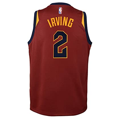 1a34516d208 Amazon.com   Nike Kyrie Irving Cleveland Cavaliers NBA Burgundy Maroon Road  Swingman Jersey (Youth Large 14-16)   Sports   Outdoors