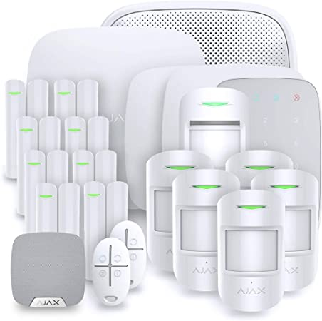 Alarme Maison sans Fil HUB 2 AJAX GSM + ETHERNET