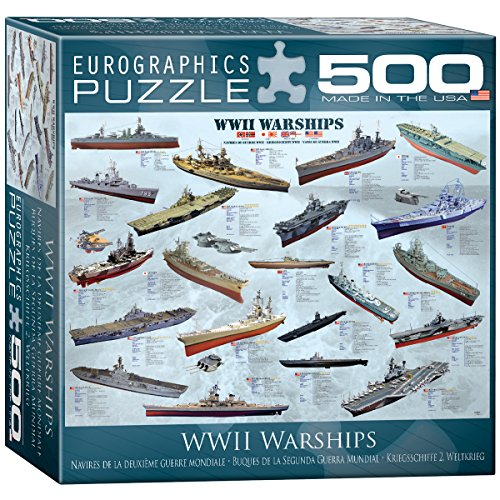 World War II Warships Puzzle, 500-Piece (Ship Wwii)