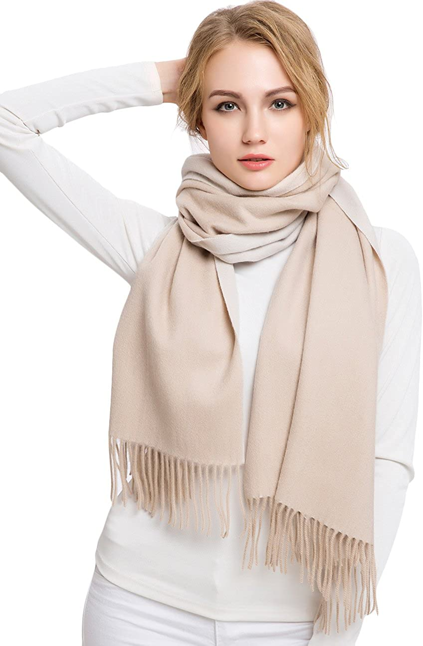 Cashmere Wool Wrap Shawl...