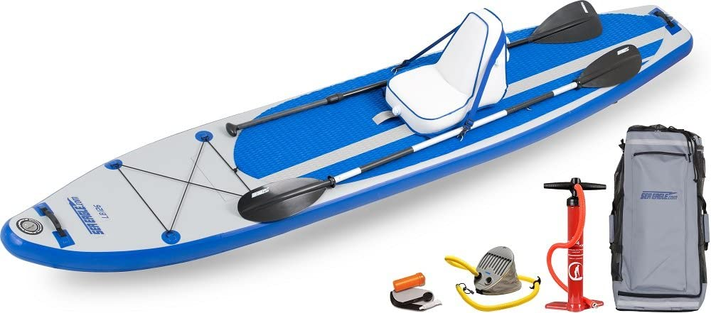 Sea Eagle LB126 Inflatable SUP Longboard – Deluxe Package