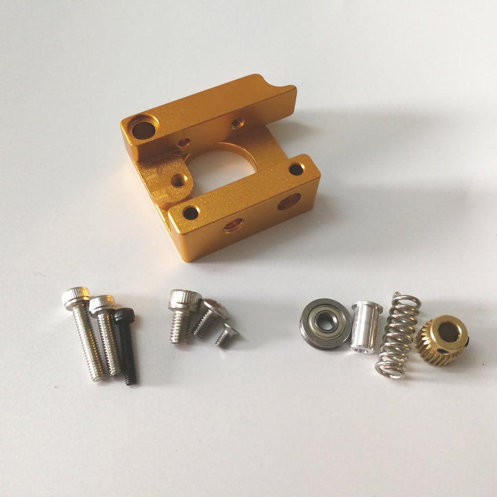 3D Impresora MK8 Extrusora Aluminio Marco Bloque Filamento ...