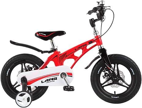 MQYZS Bicicleta Infantil para niños y niñas a Partir de 2-7  Bici ...