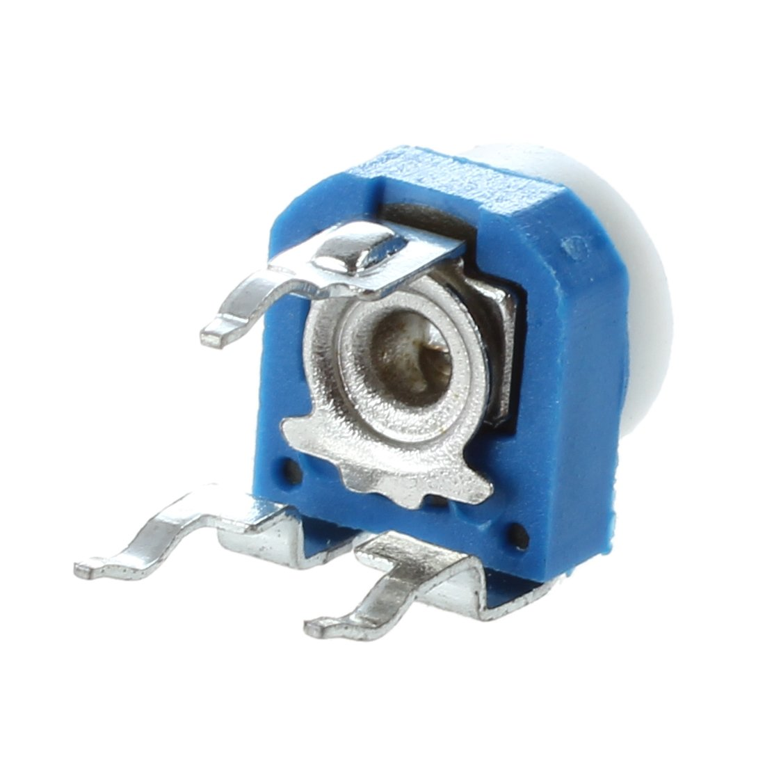 2x trimmer cermet 100 kohm 10mm verticale monogiro 1 giro single turn