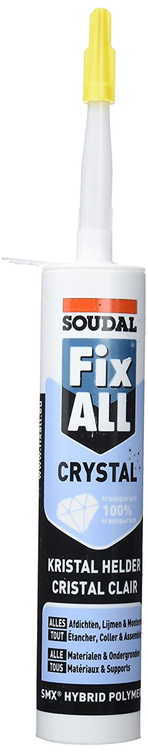 Soudal Colle Fix All Crystal 290 ml Transparent AY575