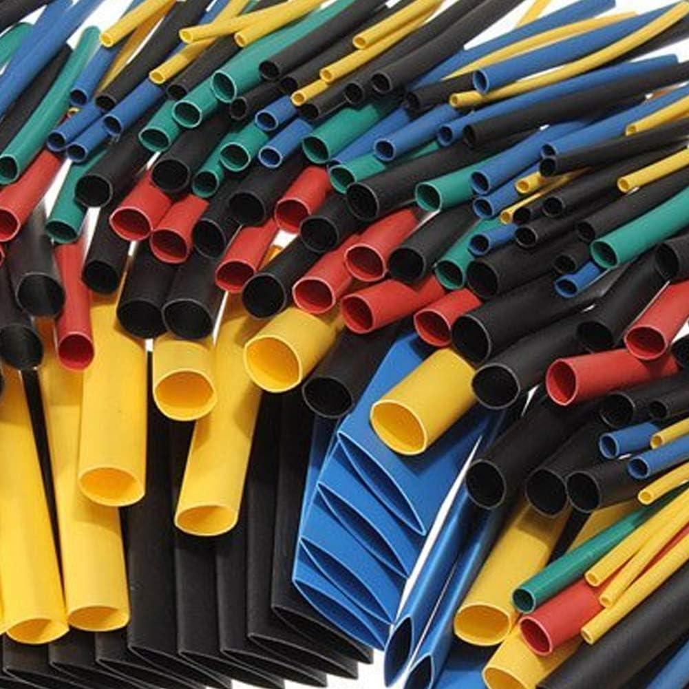 Hilai Tubo termorretr/áctil para cables el/éctricos con caja 280 piezas