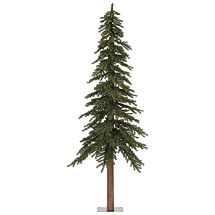 Amazon.com: Vickerman Natural Alpine Tree-Unlit, 7-Feet, Green: Home ...