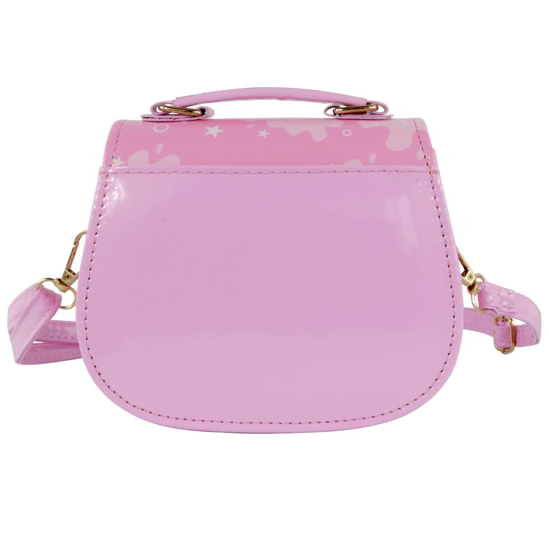 HXQ Little Peppa Pig Toys Bags,Princess Crossbody Purse Handbag for Kids Girls Toddlers Preschoolers