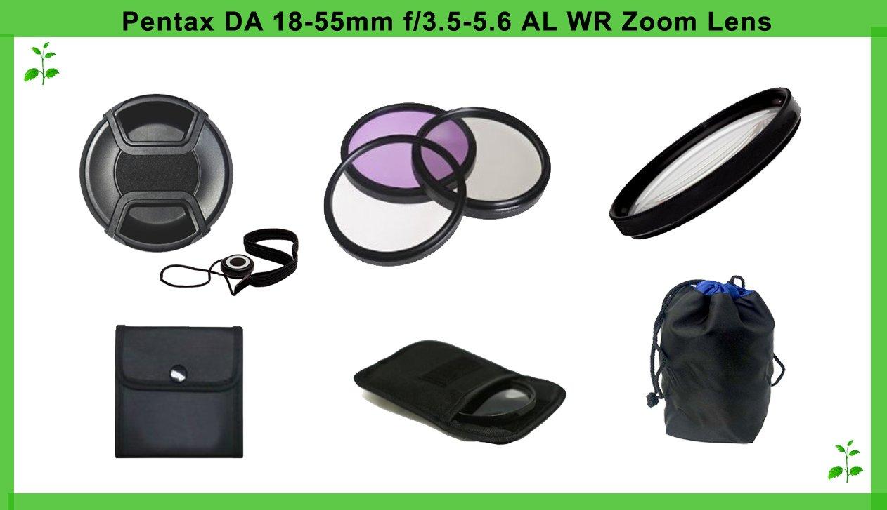 Pentax DA 18 – 55 mm f / 3.5 – 5.6 al Essentialレンズアクセサリー   B00DR6OZZU