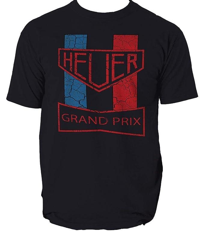 Tag Mcqueen Racing Heuer Vintage tee Shirt Mens Round Neck Short ...