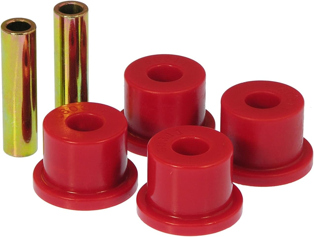 Rear Pivot Bushings Bolt Size 5//8 in Sleeve Length 3.0 in Prothane 19-611 Pivot Bushings Red Bushing OD 1.75 in