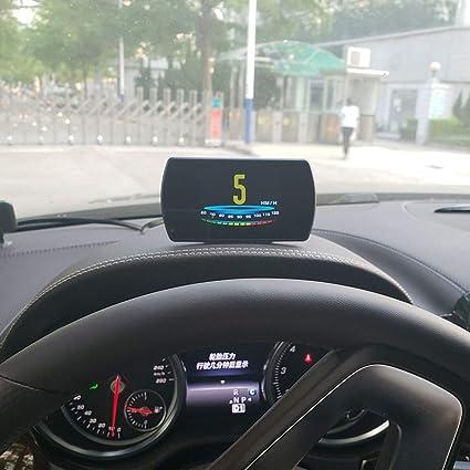3 pulgadas HD TFT Digital OBD2 GPS HUD Proyector de velocidad de ...
