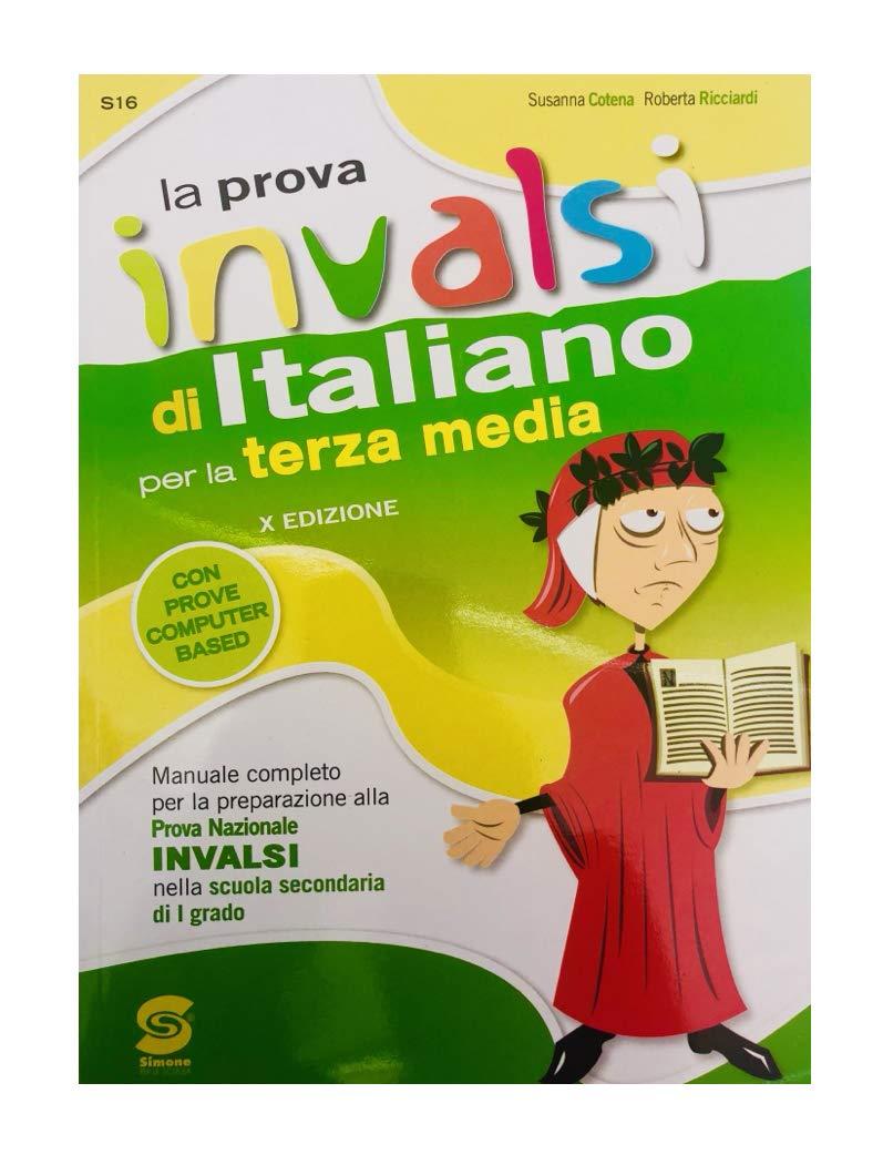 Amazonit La Prova Invalsi Di Italiano Per La Terza Media Ed 2018