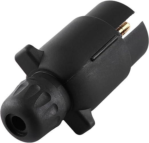 ZWFS Anh/ängersteckdosenpr/üfer 12V 7 Pin 13 Pin Abschlepplicht Kabel Stromstecker Steckdosenpr/üfer f/ür PKW Anh/änger