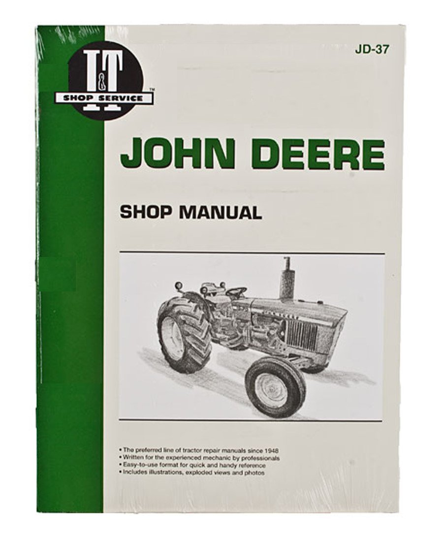 Amazon.com: SHOP MANUAL John Deere 1020 1520 1530 2020 2030 Tractor:  Industrial & Scientific