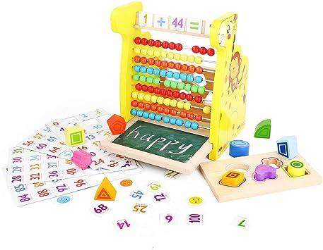 Fajiabao Juegos Montessori Matematicas Juguete de Madera Educativo ...